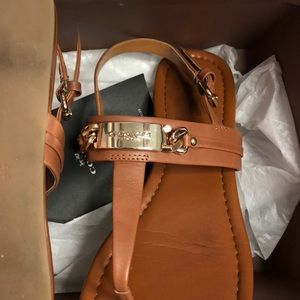 Coach Shoes - Coach saddle sandals